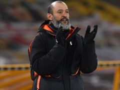 Wolves boss Nuno Espirito Santo has pored over the video of his side's 4-0 defeat against Burnley (Paul Ellis/PA)
