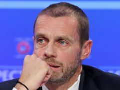 """UEFA president Aleksander Ceferin said the proposed Super League would have """"destroyed the value"""" of international and domestic competitions in Europe (Niall Carson/PA)"""