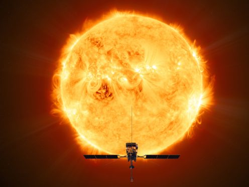 Solar Orbiter records first footage of powerful eruptions on the Sun (ESA/PA)