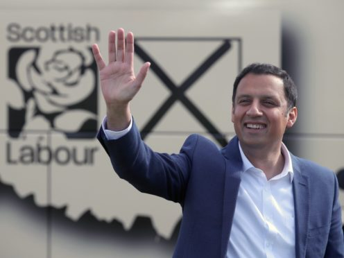 Anas Sarwar said the future of young people was on the ballot paper (Andrew Milligan/PA)