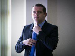 Scottish Conservative leader Douglas Ross is boycotting social media until Monday (Jane Barlow/PA)
