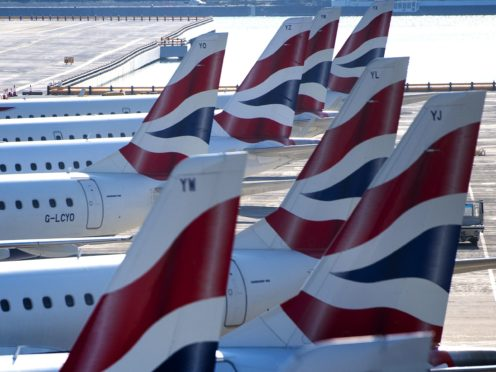 British Airways will be the world's first airline to trial a coronavirus test which produces results within 25 seconds (Victoria Jones/PA)