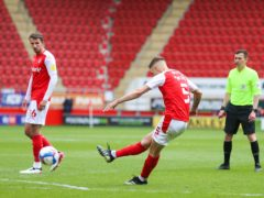 Lewis Wing scored a late leveller for Rotherham against Blackburn (Isaac Parkin/PA)