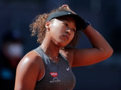 Naomi Osaka was beaten by Karolina Muchova in Madrid (Paul White/AP)