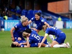 Chelsea reached the Women's Champions League final after getting past Bayern Munich in the semis (John Walton/PA).