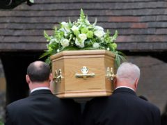 The legal limit of 30 mourners will be removed as part of the next stage of lockdown easing (PA)