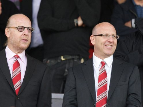 File photo dated 24/04/2010 of Manchester United directors Joel (right) and Avram Glazer. Issue date: Monday May 3, 2021.