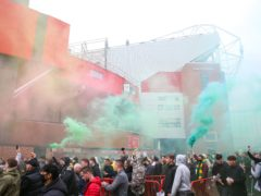 Fans protests caused the clash between Manchester United and Liverpool to be postponed (Barrington Coombs/PA)