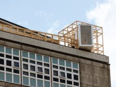 The setting for a year-long artistic project on the roof of Hull College (Tom Arran/PA)