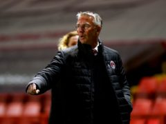 Nigel Adkins and his side still harbour play-off hopes (Adam Davy/PA)