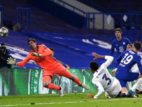 Mason Mount sealed Chelsea's Champions League final palce with their second goal (Adam Davy/PA)