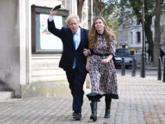 Boris Johnson and Carrie Symonds (PA)