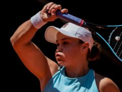 Ashleigh Barty is through to the final in Madrid (Bernat Armangue/AP)