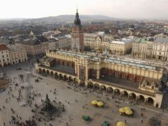 The Polish city of Krakow (AP)