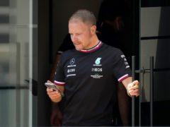 Valtteri Bottas finished fastest in first practice in Spain (Emilio Morenatti/AP)