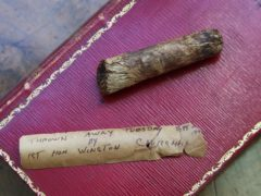 A cigar butt discarded by Sir Winston Churchill sold for £4,270 (Gareth Fuller/PA)