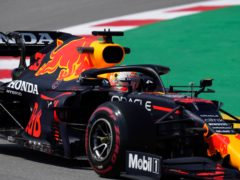 Max Verstappen finished fastest in final practice (Emilio Morenatti/AP)