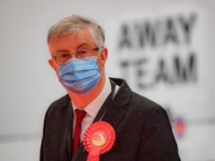 Welsh First Minister Mark Drakeford is elected as Cardiff West MS (Ben Birchall/PA)