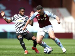 John McGinn was disappointed by Sunday's loss to Manchester United (Nick Potts/PA)