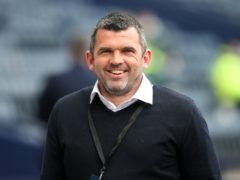 St Johnstone manager Callum Davidson has led his side to two finals in his first season in charge – but only after a sticky start for the 44-year-old (Andrew Milligan/PA)