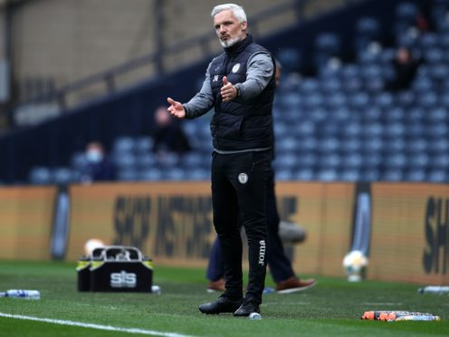 St Mirren manager Jim Goodwin is delighted with his side's seventh place finish in the Scottish Premiership (Andrew Milligan/PA Images).
