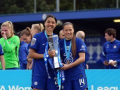 Chelsea's Sam Kerr (left) and Fran Kirby have been in fine form this season (John Walton/PA)