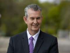 Edwin Poots has been elected DUP leader (PA)
