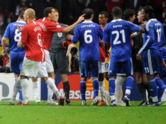 Manchester United and Chelsea faced off in the 2008 Champions League final (Owen Humphreys/PA)