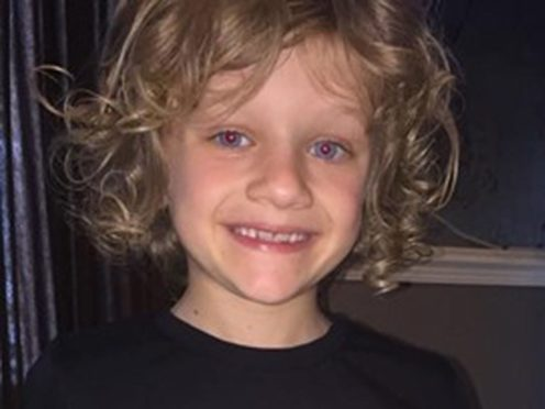 Jordan Banks, nine, from Blackpool, who died after being seriously injured when he was struck by lightning on a football field just after 5pm on Tuesday (Lancashire Constabulary/PA)