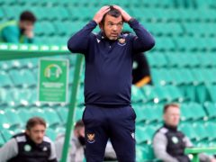 Callum Davidson's squad was further depleted (Andrew Milligan/PA)