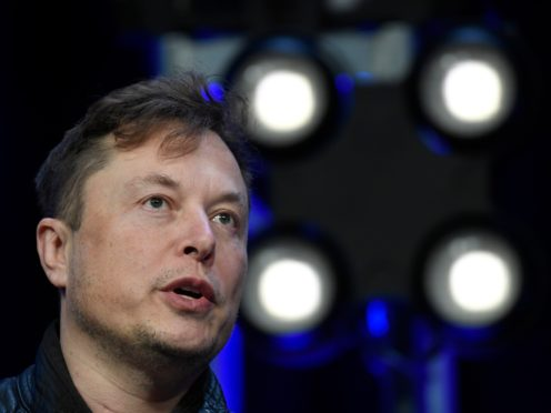 Tesla and SpaceX Chief Executive Officer Elon Musk (Susan Walsh/AP)