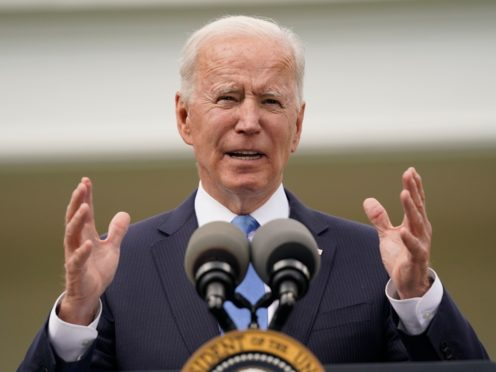 Donald Trump's executive order protecting US monuments, memorials and statues has been cancelled by his successor Joe Biden, who also called off the former president's planned national garden of American heroes (Evan Vucci/AP)