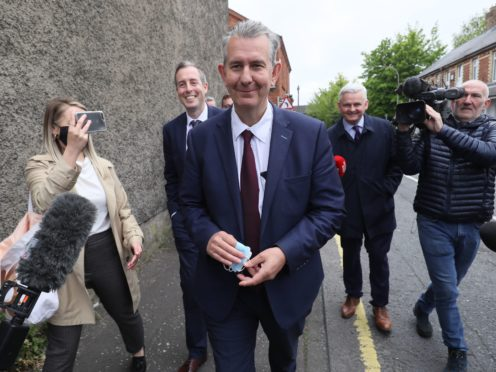 Edwin Poots is viewed as a traditionalist within the DUP (Brian Lawless/PA)