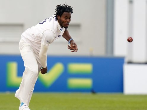 Jofra Archer's fitness is a growing concern for England (Adam Davy/PA)
