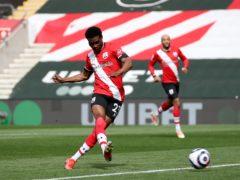 Nathan Tella scores for Southampton (Peter Cziborra/PA)