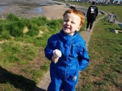Two-year-old George Hinds died in a suspected gas explosion (Lancashire Police/PA)