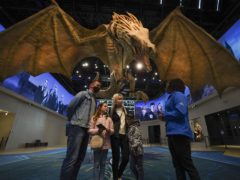 People look around sets at the Warner Bros. Studio Tour London (Steve Parsons/PA)