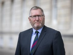 Doug Beattie at Stormont, Belfast, after becoming the new leader of the Ulster Unionist Party (UUP/PA) Picture date: Monday May 17, 2021.