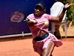Serena Williams suffered another early loss in Parma (Marco Vasini/AP)