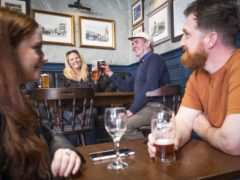 The reopening of pubs and restaurants meant fewer workers in the UK are now on furlough. (Jane Barlow / PA)