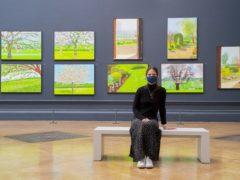 David Hockney exhibition (Ian West/PA)