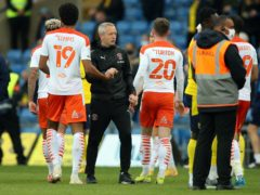 Neil Critchley's Blackpool took a big step towards the play-off final (Nigel French/PA)
