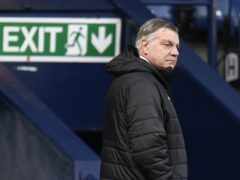 Sam Allardyce will leave relegated West Brom after this weekend's final round of fixtures (Peter Powell/PA)