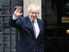 Boris Johnson on Downing Street