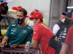 Ferrari driver Charles Leclerc could not start the Monaco Grand Prix despite qualifying on pole (Luca Bruno/AP)