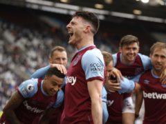 Declan Rice led West Ham into Europe (John Sibley/PA)