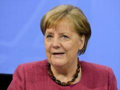 German Chancellor Angela Merkel (Annegret Hilse/Pool via AP)