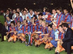 Barcelona won the European Cup on this day in 1992 (John Stillwell/PA)