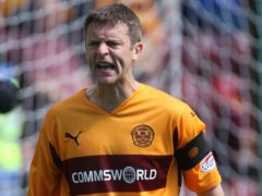 Former Motherwell skipper Stephen Craigan is looking forward to his old side taking on Airdrie (Lynne Cameron/PA)