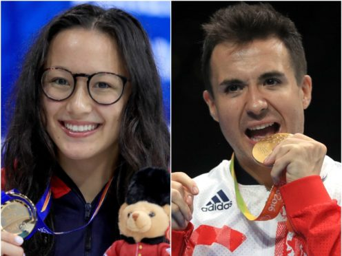 Alice Tai and Will Bayley (Adam Davy/PA)